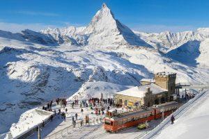 Andare a sciare in treno