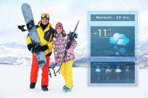 Previsioni meteo e neve
