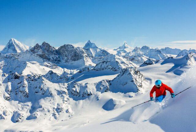 I top 5 ghiacciai in cui sciare in Europa